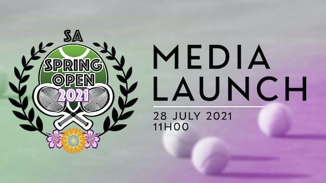 SA Spring Open 2021 - Launch