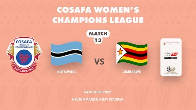 Botswana vs Zimbabwe