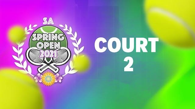 SA SPRING OPEN COURT 2 - Part 2