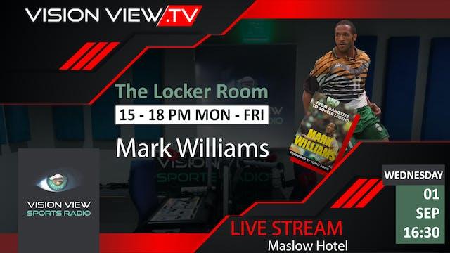 Mark Williams book launch