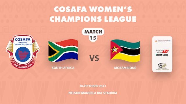 South Africa vs  Mozambique
