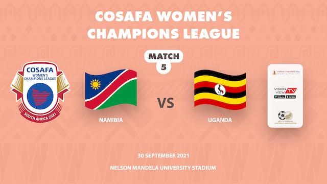 Namibia vs Uganda Part 2