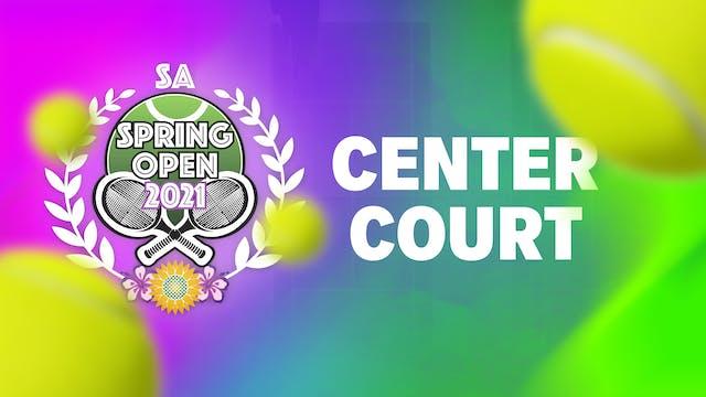 SA SPRING OPEN CENTER COURT  - Part 3