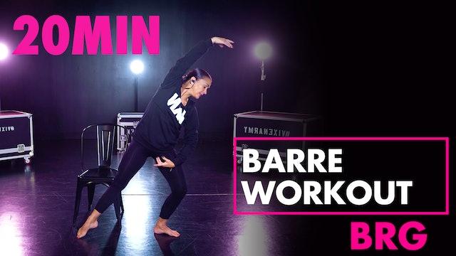 20min BRG Barre Workout
