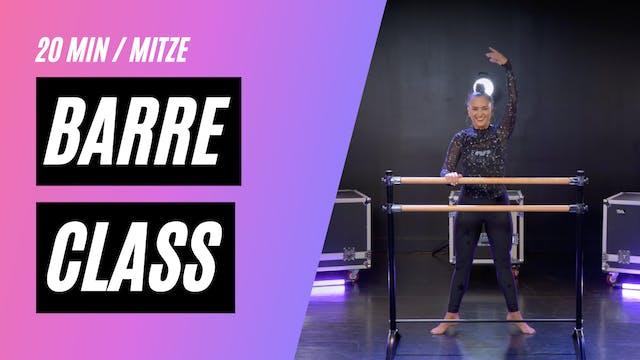 BARRE CLASS W/ MITSOUKO