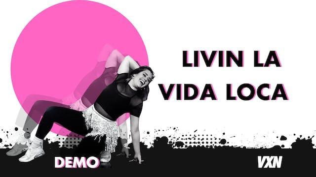 VXN - Livin La Vida Loca demo