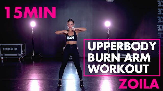 Upperbody Burn Arm Workout