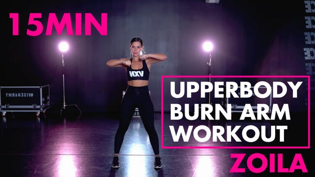 Upperbody Burn Arm Workout
