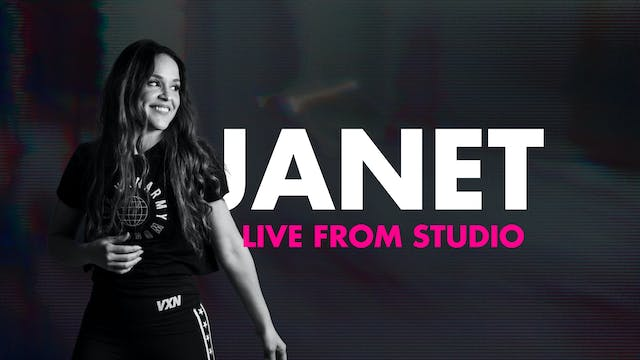 50min VXN LIVE with Janet