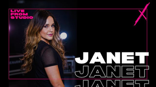 VXN LIVE W/ JANET - MONDAY 8/31 AT 6PM