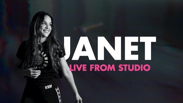 JANET LIVE- 40MIN LATIN URBAN MASH-UP