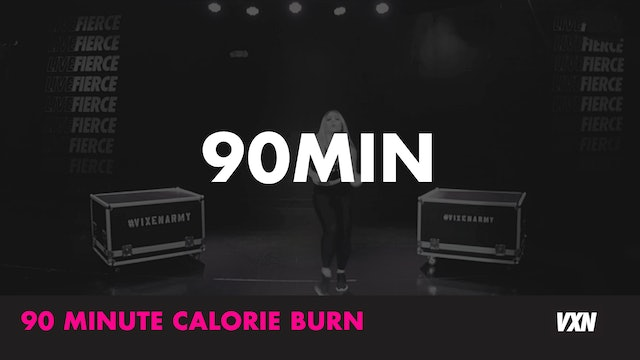 90min Calorie Burn with the Studio Instructors