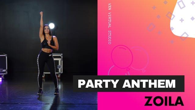 PARTY ANTHEM w/ ZOILA- WED 6/2 @ 6PM