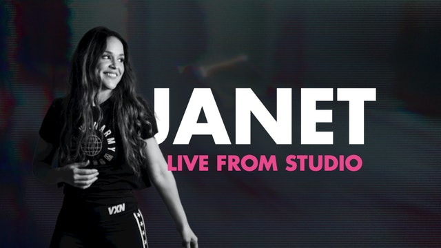 45min- VXN LIVE with Janet