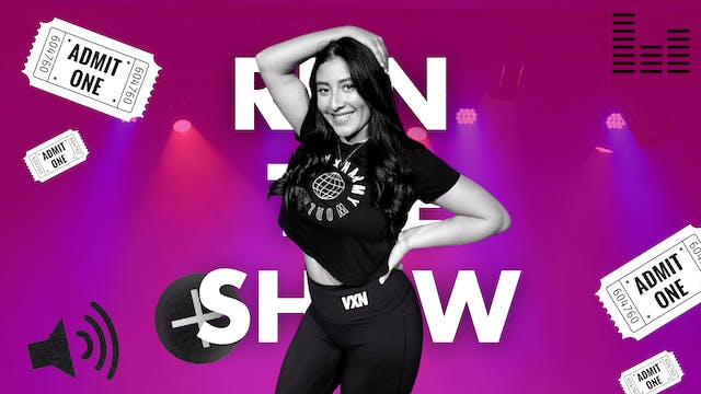 RUN THE SHOW W/GRACE-WED 9/22 AT 6PM
