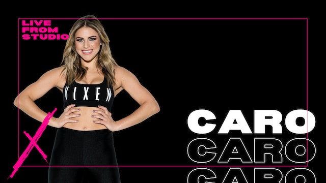 VXN LIVE WITH CARO -MONDAY 9/21 AT 7:15PM
