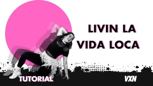 VXN - Livin La Vida Loca tutorial