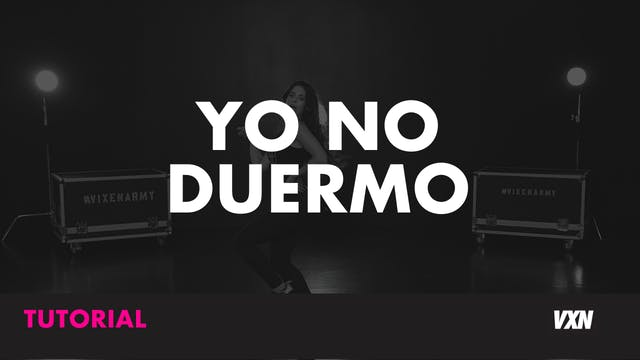 YO NO DUERMO - TUTORIAL