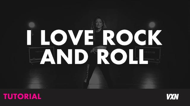 I LOVE ROCK AND ROLL-TUTORIAL