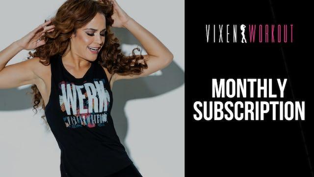 Vixen Workout Subscription
