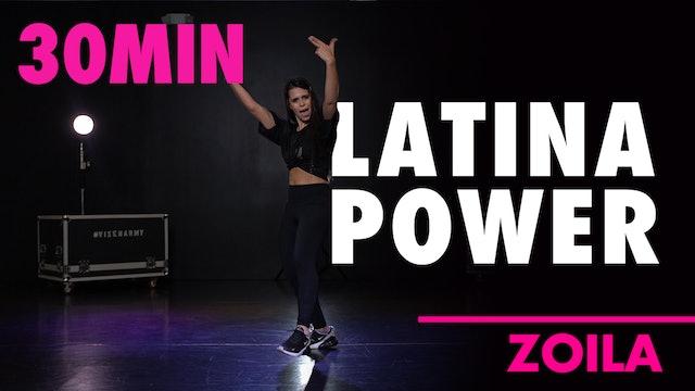 30MIN LATINA POWER w/ Zoila
