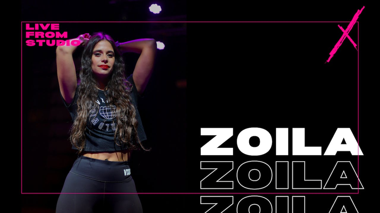 VXN LIVE W/ZOILA-2/10 WED AT 6PM