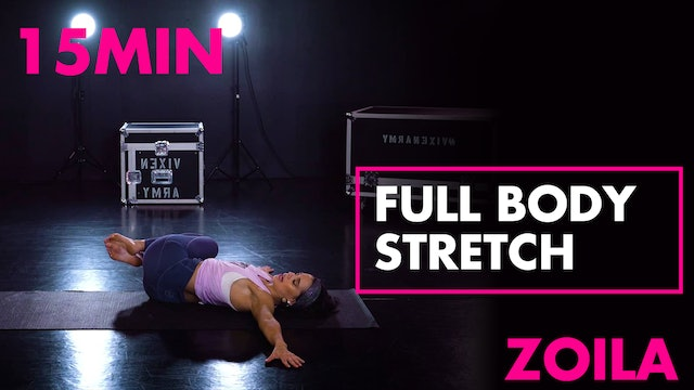 15min Full Body Stretch w/ Zoila