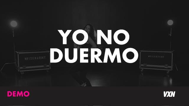 YO NO DUERMO - DEMO