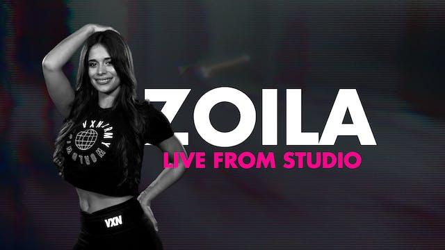 VXN LIVE WITH ZOILA (EN ESPAÑOL)