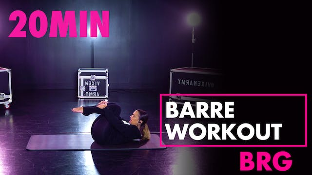 20min BRG Barre Workout