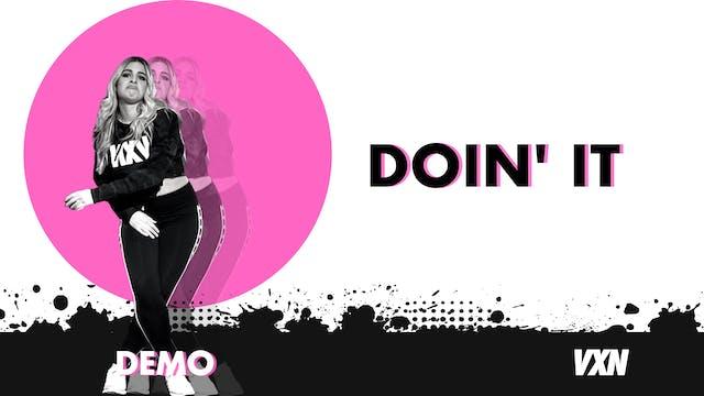 VXN - Doin It demo
