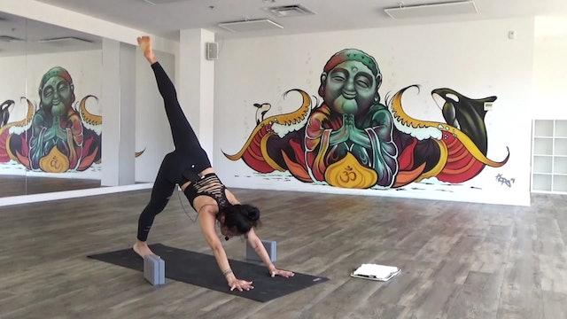Patricia Hanumanasana Practice