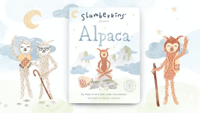 Slumberkins Presents: Alpaca