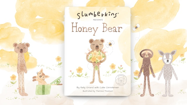 Slumberkins Presents: Honey Bear