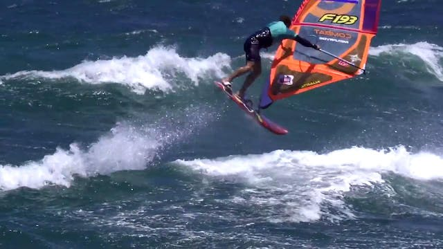 Team Pryde at the 2016 POZO PWA World...