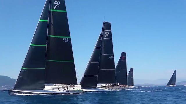 Maxi 72 - Corfu Challenge 2017 - Day One