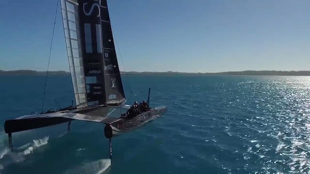 SoftBank Team Japan - On the Water Wi...