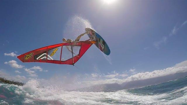 JP 2018 Windsurf Action