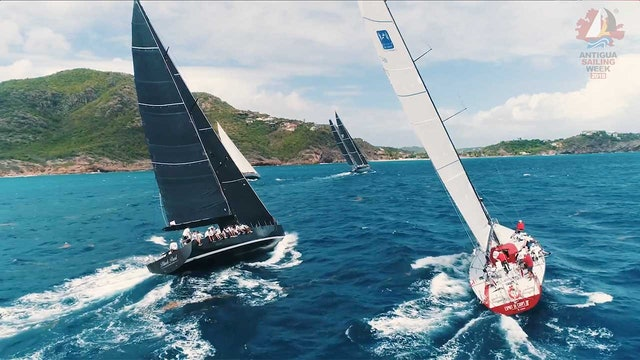 Antigua Sailing Week 2018 - Fever-Tree - Race Day 2