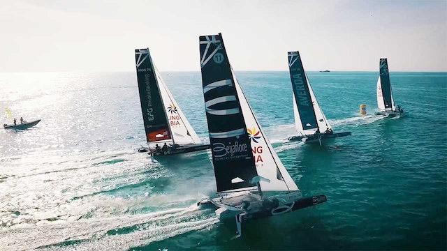 EFG Sailing Arabia - The Tour - Masirah Leg 3