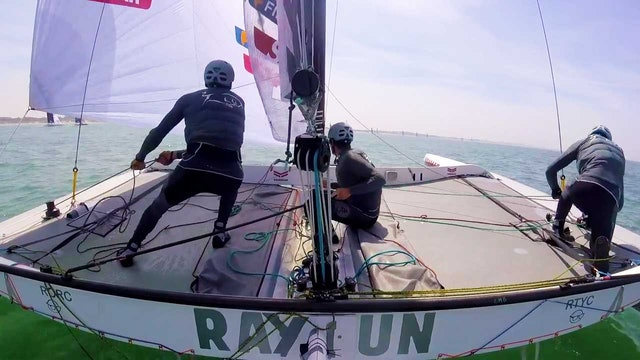 Team Maverick SSR - Tour Voile Stage 1 - Dunkirk