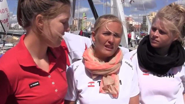 49erFX teams interviewed at the 2013 Palma World Cup