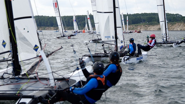 TME - Nacra 15 ESS 2019 - Young Europeans Sailing - Day Two