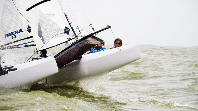 TME - Nacra 15 ESS 2019 - Young Europeans Sailing - Day One