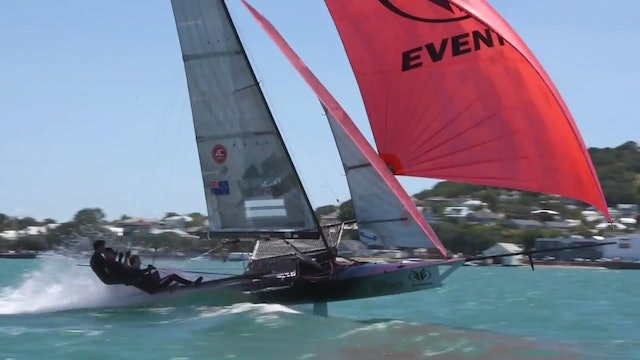 2017 18 Foot Skiff New Zealand Nationals - Day 1