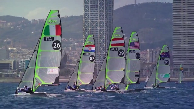 49er & 49erFX European Champs 2016 - Day 5