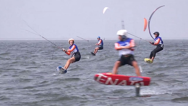 2019 Kitefoil World Series Weifang Binhai - Day Two