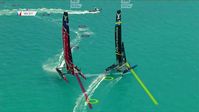 35th America's Cup - 29th May - Quali...