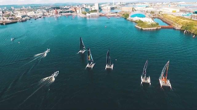 Extreme Sailing Series - Act 6, Cardiff Day Three