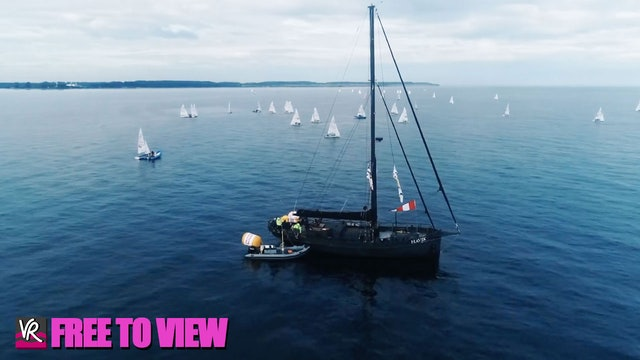 F2V - Kiel Week 2021 - Sailing Highlights - Day 4